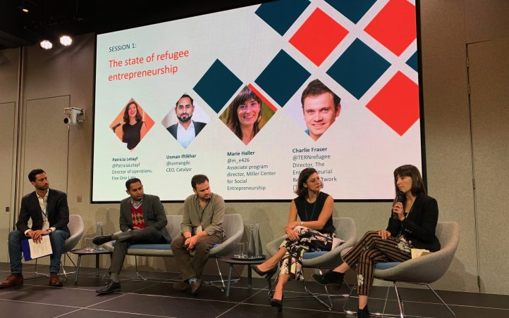 An Inspiring Global Refugee Entrepreneurship Summit